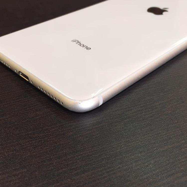1円~!! SIMフリー iphone8Plus 64GB シルバー ☆バッテリー95%☆ Apple アイフォン au ドコモ ソフトバンク_画像5