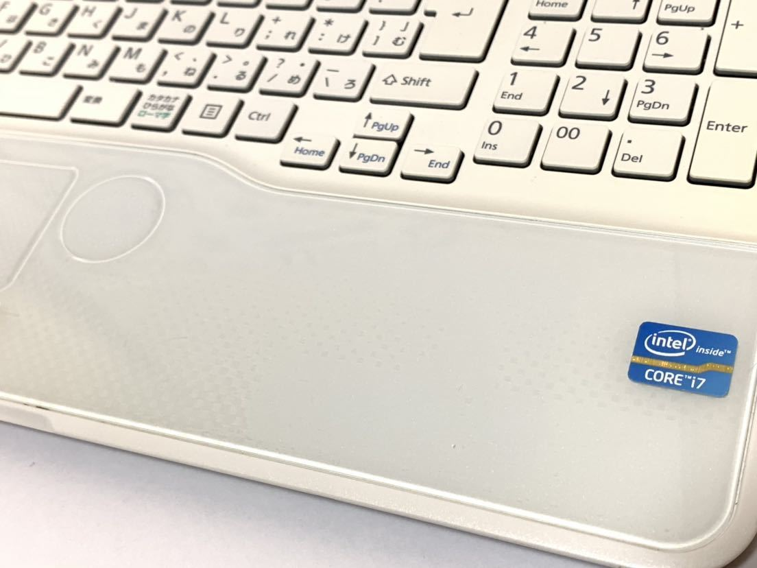 ☆美品☆激速+大容量♪(新品)SSD480GB 超高性能☆core i7-2670QM 富士通 LIFEBOOK AH53/K メモリ8GB ブルーレイ office2016_画像6