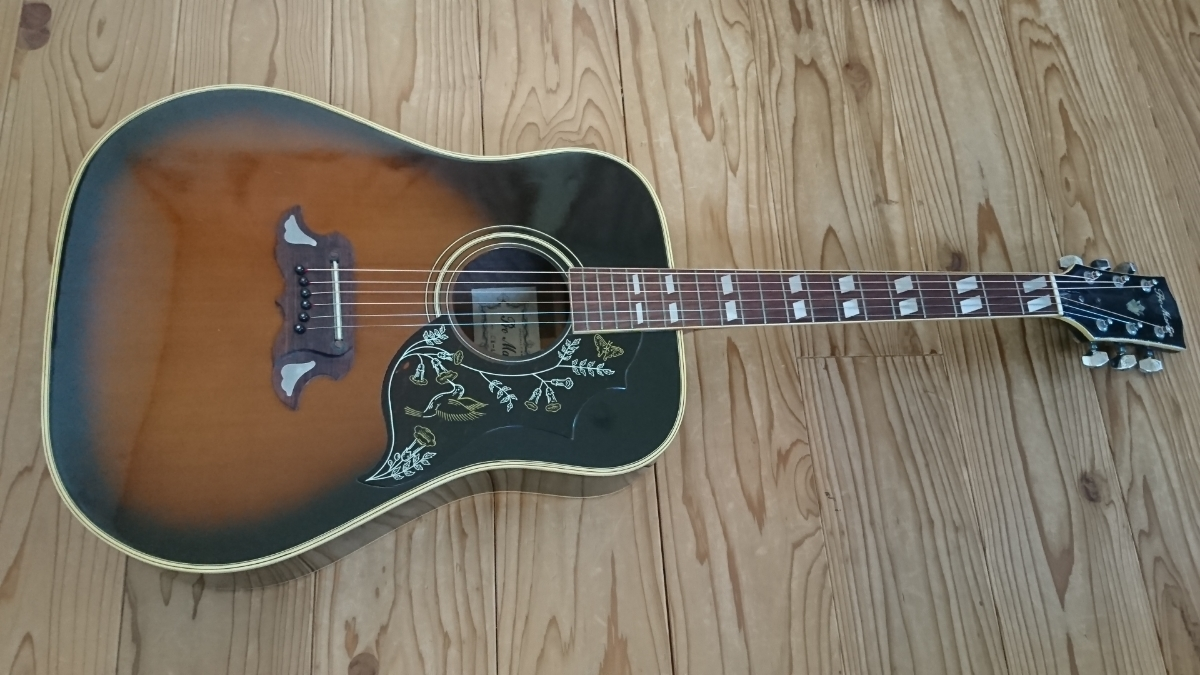 Pro Martin CW-400 希少・アコースティックギター 状態良ジャパンビンテージ_画像2
