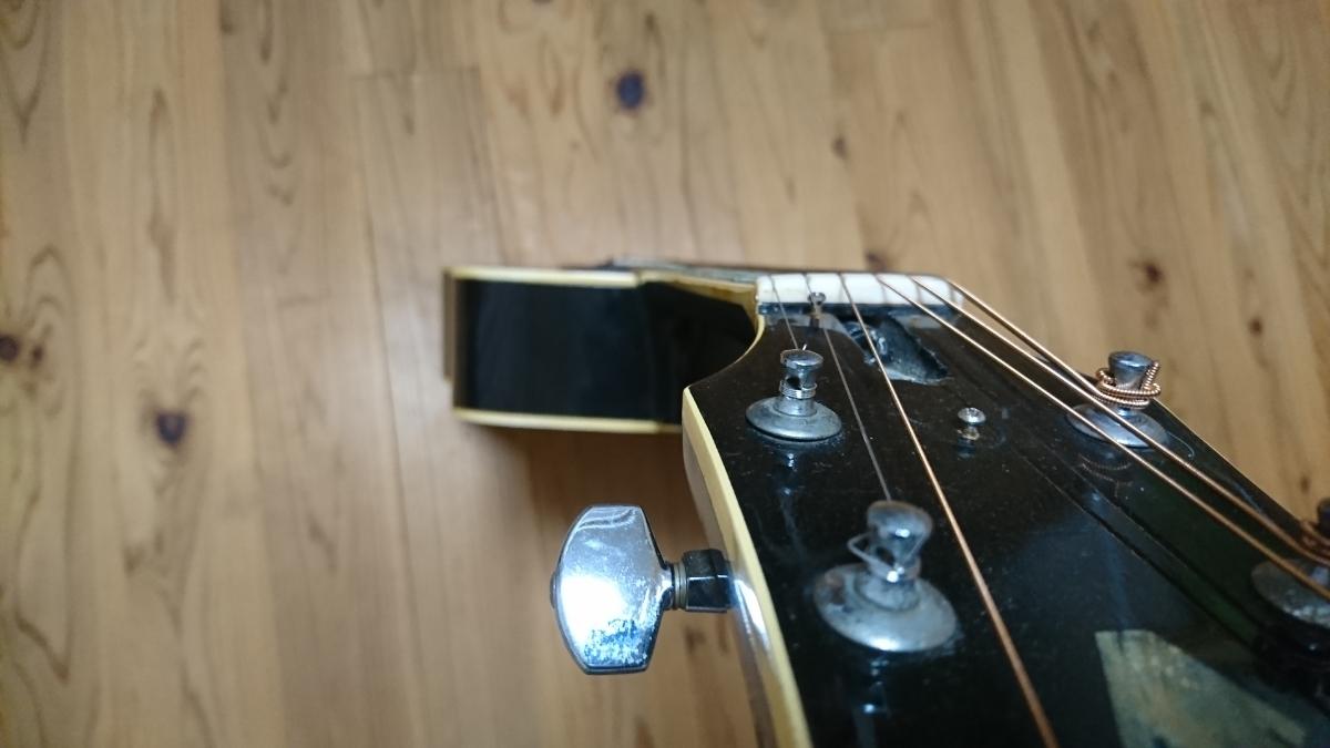 Pro Martin CW-400 希少・アコースティックギター 状態良ジャパンビンテージ_画像7