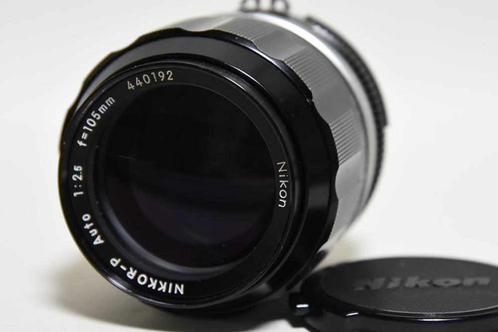 Nikon ニコン Ai改 NIKKOR-P Auto 105mm F2.5 実写画像あり 中古送料込み