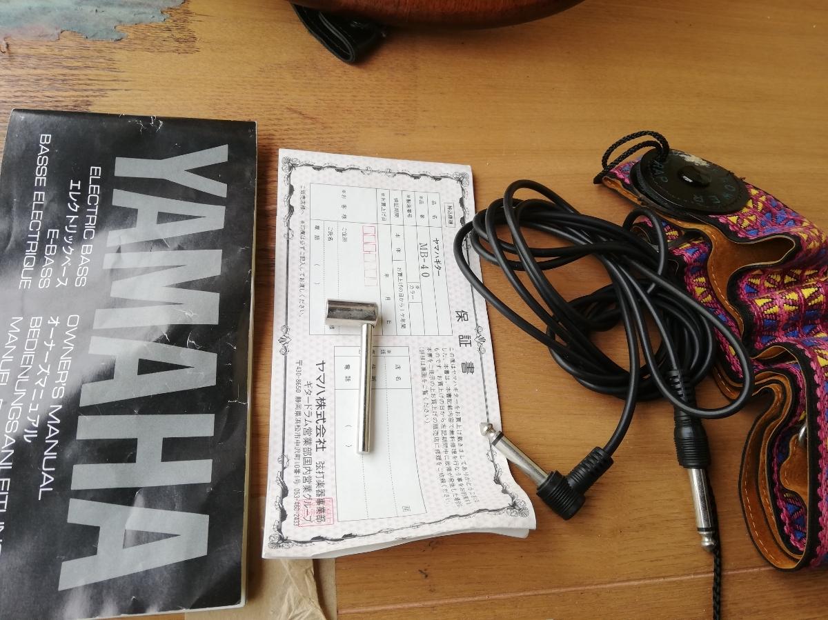 YAMAHA/ヤマハ『MOTION-B』エレキベース MB-40 音出しOK 現状品 _画像4