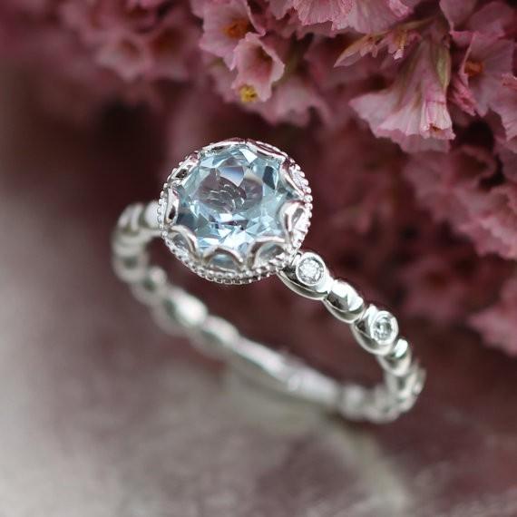 最高級の逸品 豪華 厳選 超大粒 スカイブルーCZダイヤモンドリング指輪 1.5ct 刻印有 プラチナ仕上 シルバー925 14号_画像1