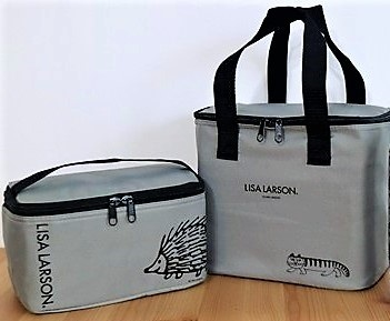 ◆◆訳有品◆◆ 大人のおしゃれ手帖 付録 ◆ リサ・ラーソン おしゃれな保冷バッグ2点セット ◆_画像4