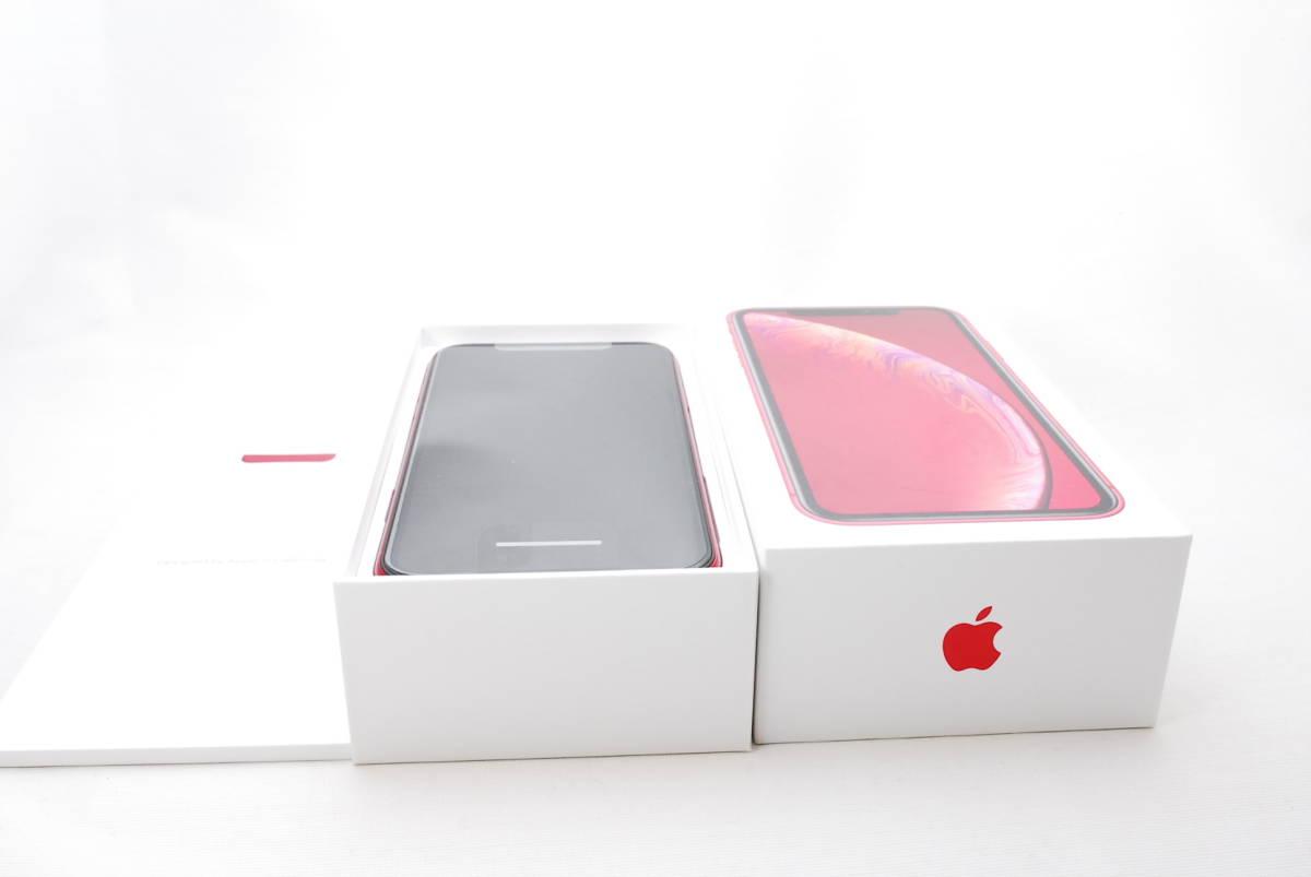 ★ 送料無料 ★【新品】iPhoneXR 64G レッド(赤) au版 SIMロック解除済_画像3