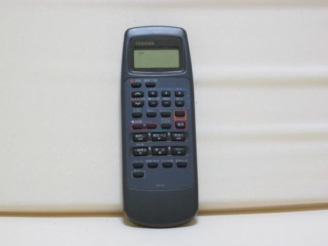 東芝 Hi8ビデオデッキ E-800BS ジャンク / リモコン RM-F26 動作品 _画像10