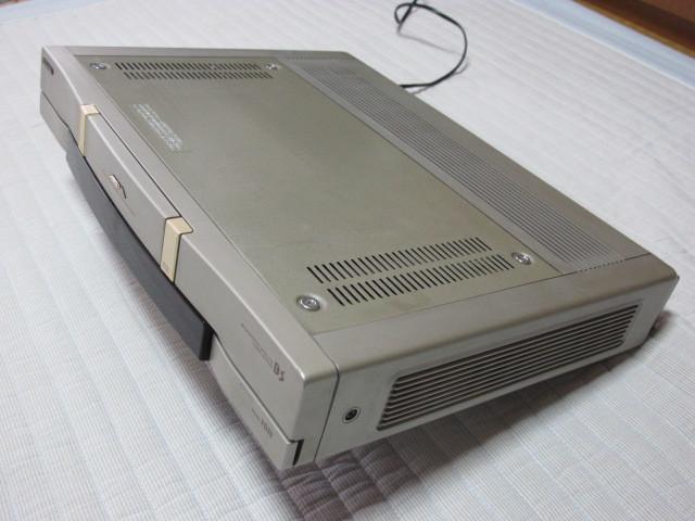 東芝 Hi8ビデオデッキ E-800BS ジャンク / リモコン RM-F26 動作品 _画像7