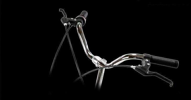 アウディAudi 折りたたみ 自転車 ファットバイク 20インチ ディスクブレーキ 高級仕様 通勤 便利_画像6
