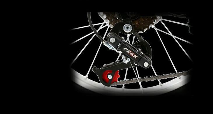 アウディAudi 折りたたみ 自転車 ファットバイク 20インチ ディスクブレーキ 高級仕様 通勤 便利_画像3