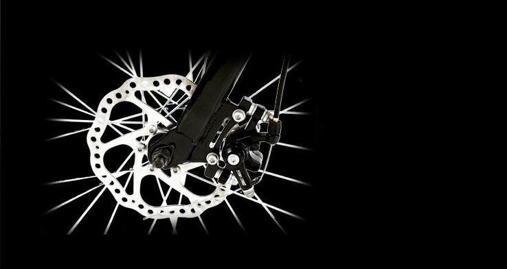 アウディAudi 折りたたみ 自転車 ファットバイク 20インチ ディスクブレーキ 高級仕様 通勤 便利_画像5