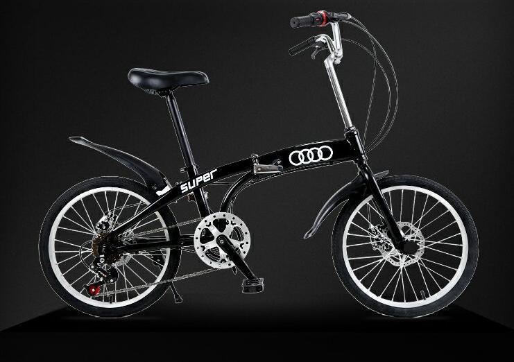 アウディAudi 折りたたみ 自転車 ファットバイク 20インチ ディスクブレーキ 高級仕様 通勤 便利
