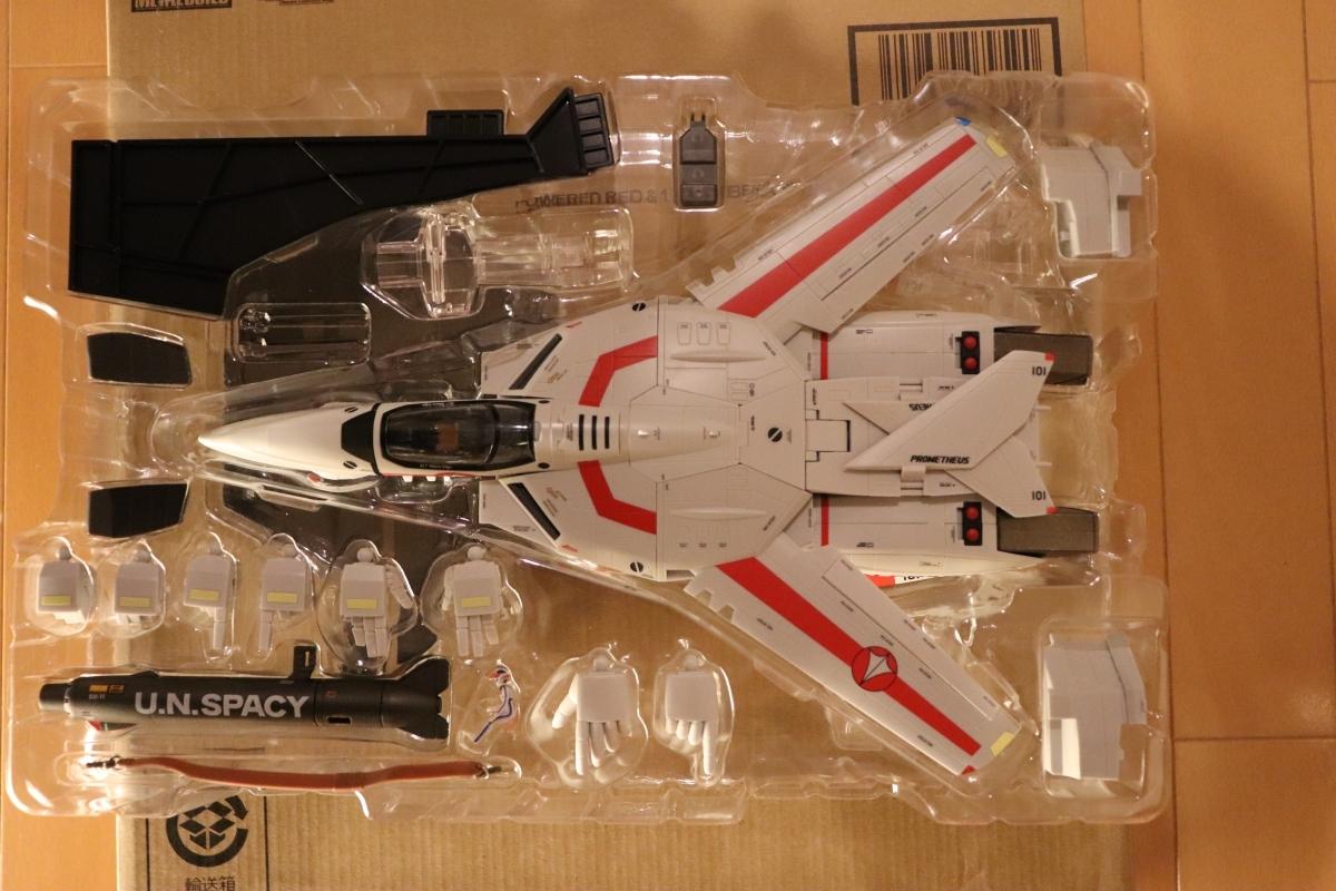 バンダイ DX超合金 マクロス VF-1J 一条輝機 初回限定版_画像4