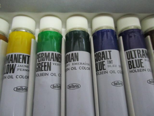 油絵具ホルベイン12色セット 未使用品_画像7
