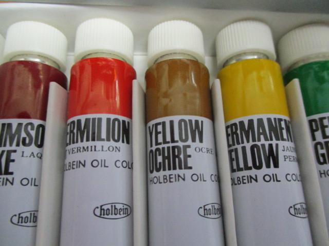 油絵具ホルベイン12色セット 未使用品_画像8