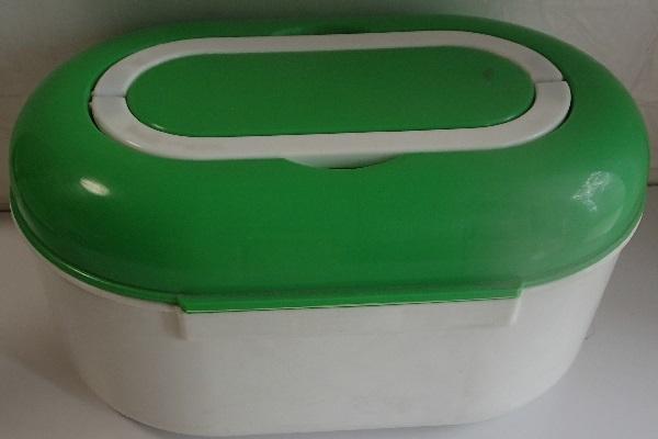 810/救急箱 First aid kit box ケース/収納上手/細型トレー 仕切り板 ハンドル付 内収納/軽量プラスチック製/山一證券健康保険組合_画像5