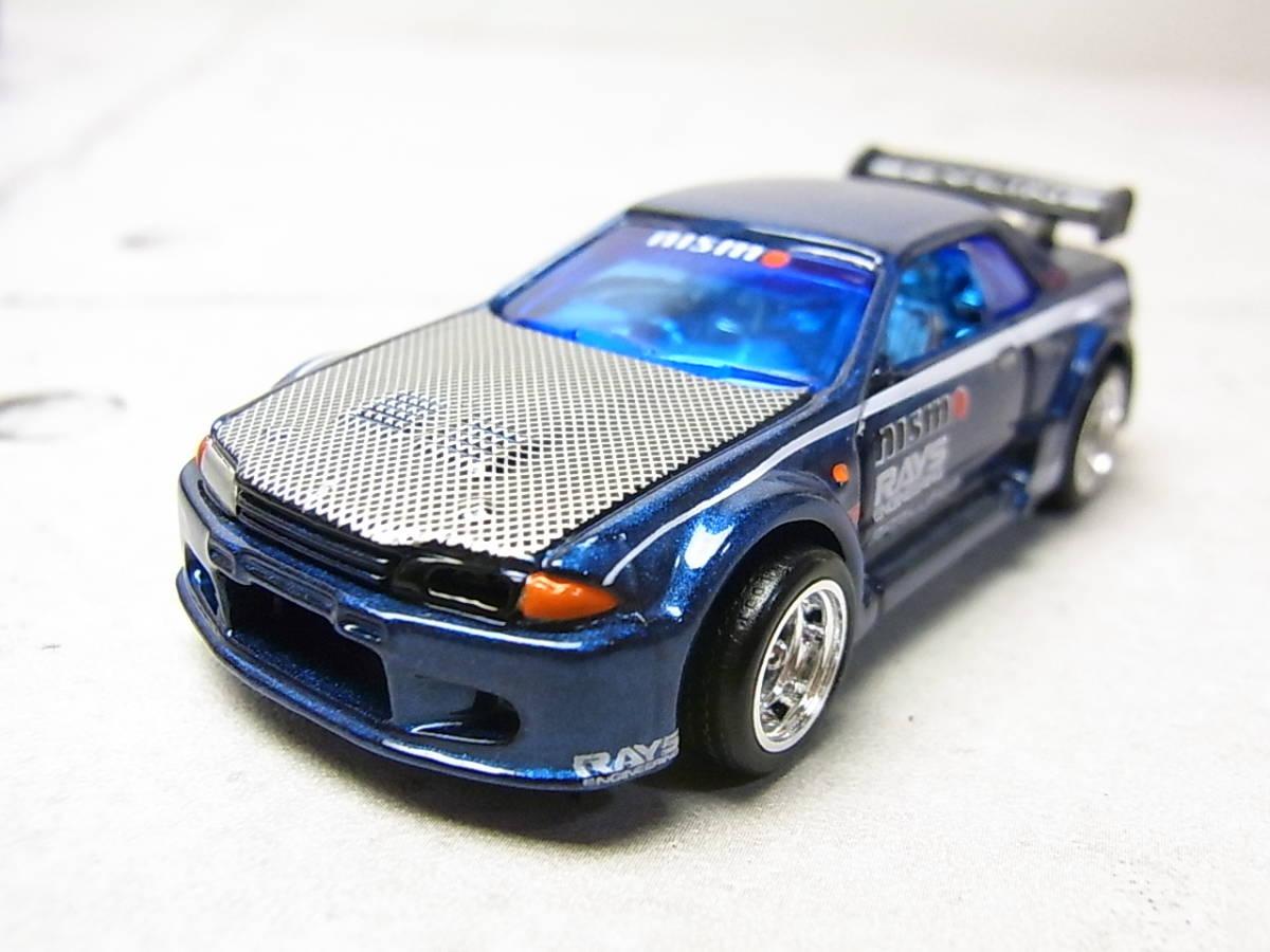 100%ホットウィール コレクターブック/NO.5 ニッサン スカイライン GT-R R32 コレクション品