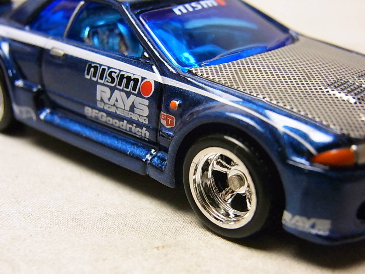 100%ホットウィール コレクターブック/NO.5 ニッサン スカイライン GT-R R32 コレクション品_画像2