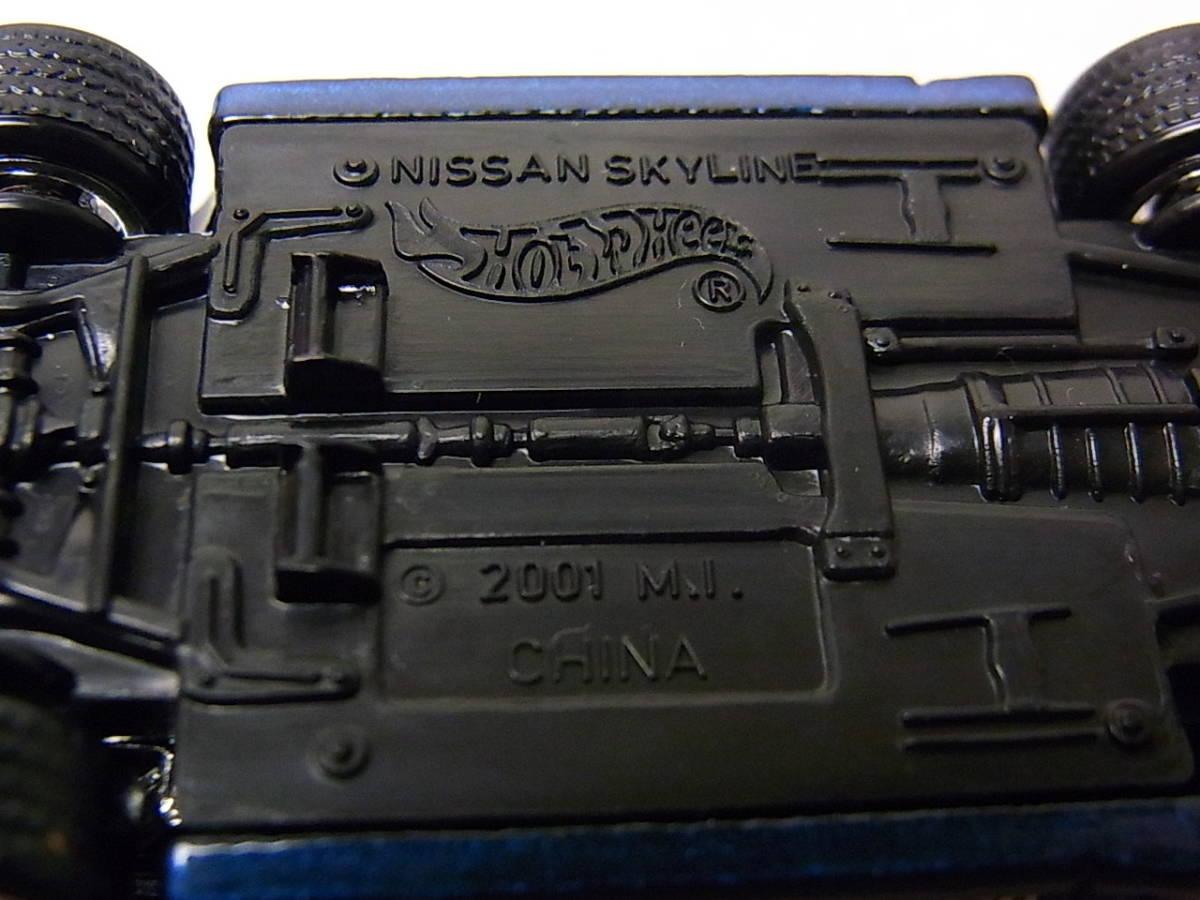 100%ホットウィール コレクターブック/NO.5 ニッサン スカイライン GT-R R32 コレクション品_画像3