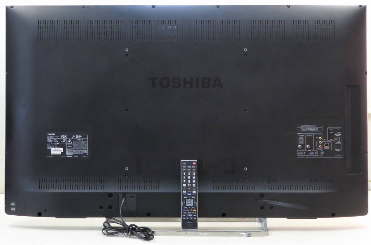 (2120) TOSHIBA REGZA 55Z8 14年★ 3D/フルハイビジョン液晶TV 55型 / LEDバックライト/HDMI/USB/外付けHDD/無線LAN/D5端子搭載_画像3