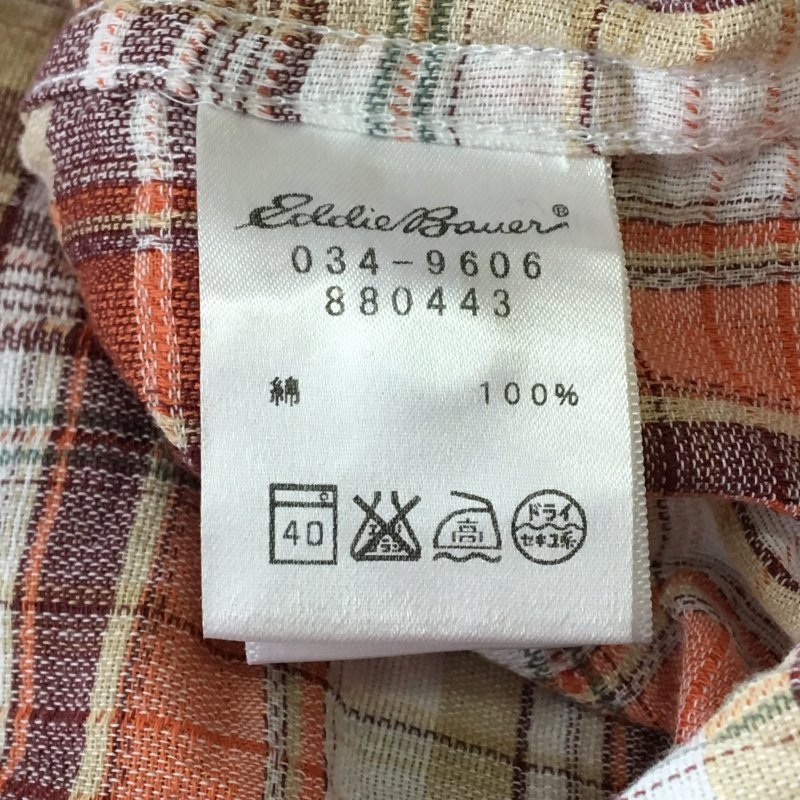 《郵送無料》■Ijinko★エディーバウアー Eddie Bauer★ M サイズ半袖シャツ