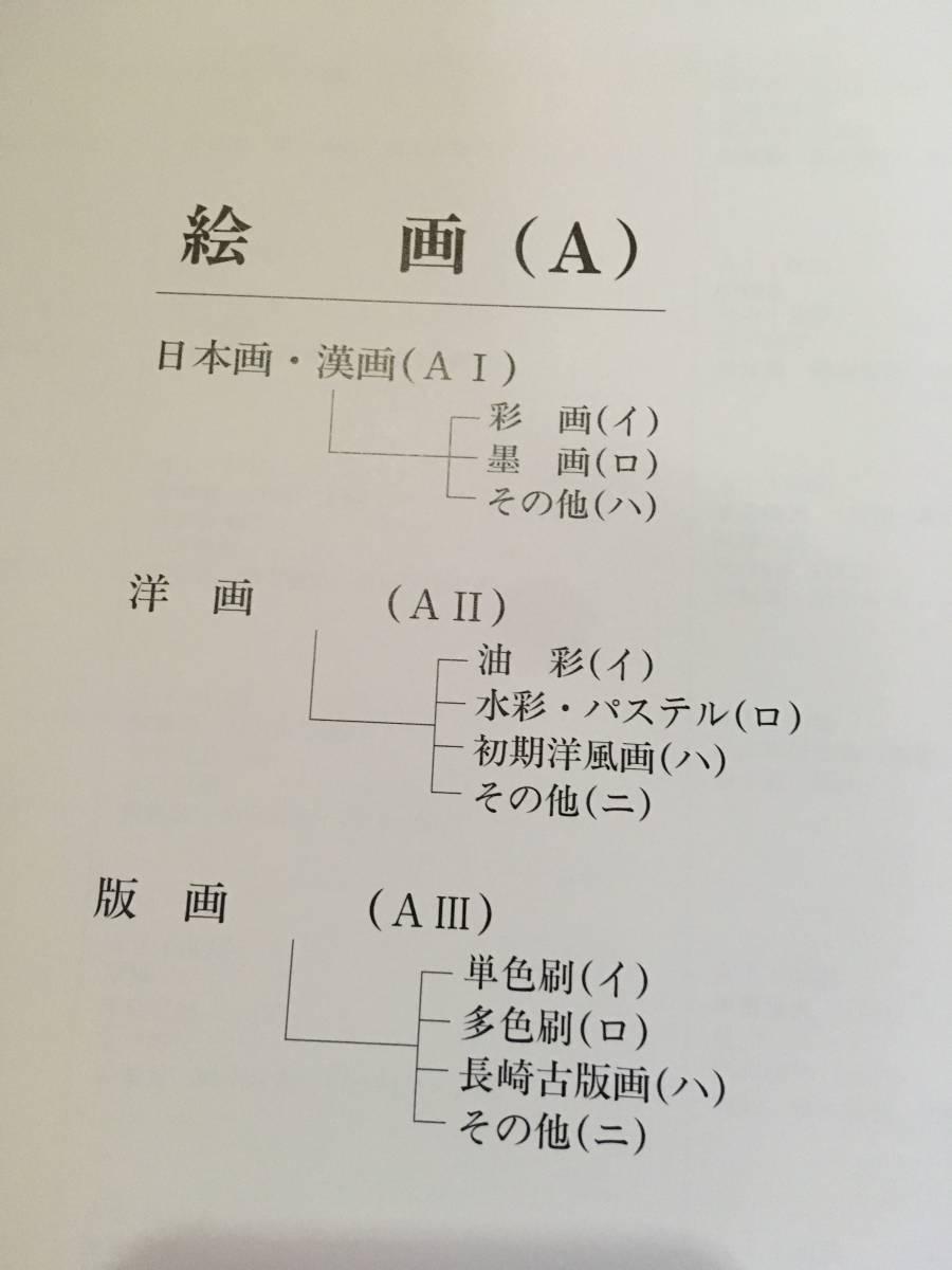長崎県立美術博物館収蔵資料目録 絵画 彫刻 考古 歴史 民族 写真 目録 美術館 資料_画像3