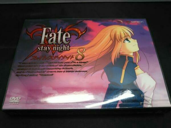 DVD [全8巻セット] Fate/stay night 1~8 BOX付き_画像6