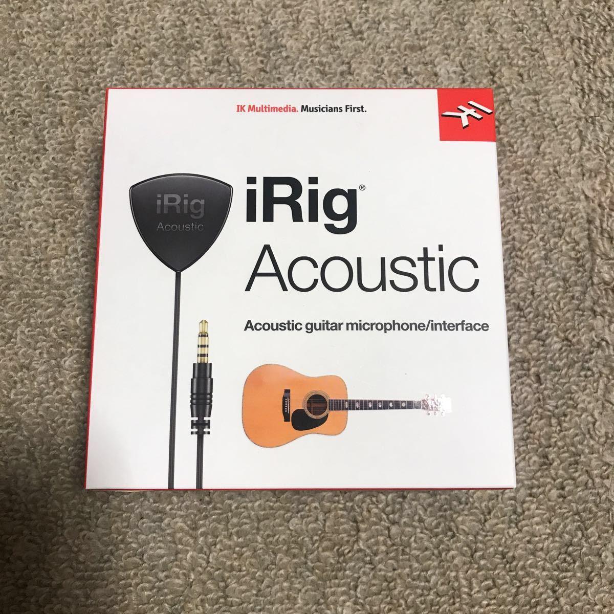 【送料無料】IK Multimedia iRig Acoustic