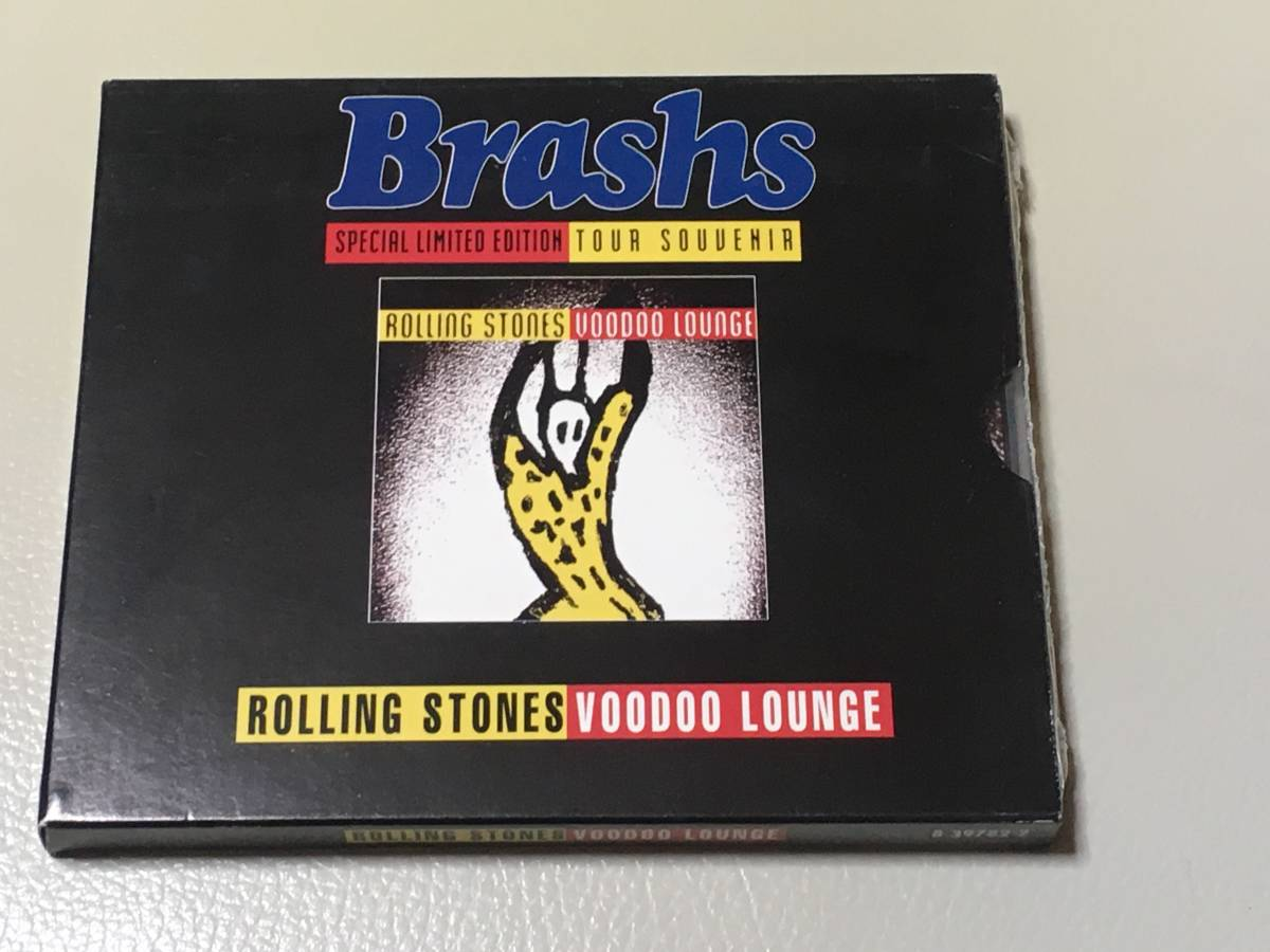 ◆Rolling Stones◆ローリングストーンズ◆Brashs Special Limited Edition◆Tour Souvenir◆Voodoo Lounge◆_画像1