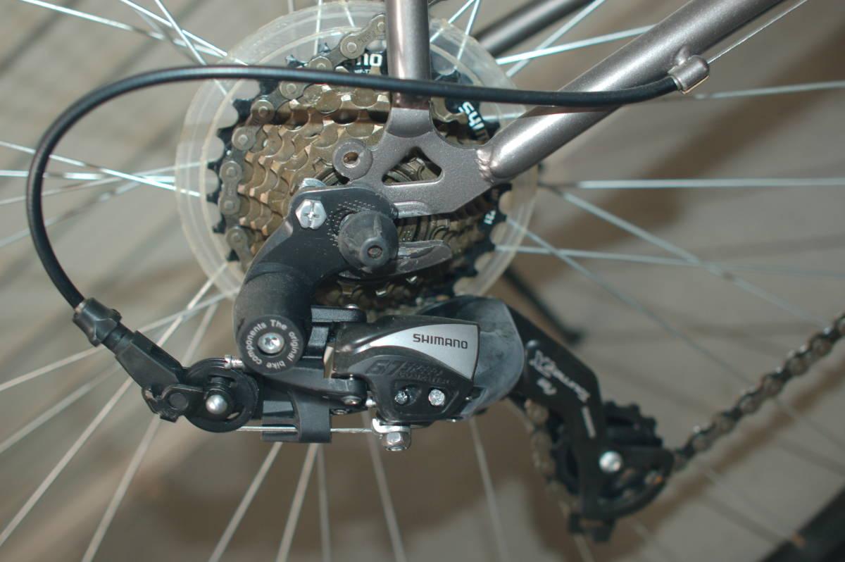 28インチ700 35Cクロスバイク Tour de Shangri-la (部品取り用、引取り限定)_画像6