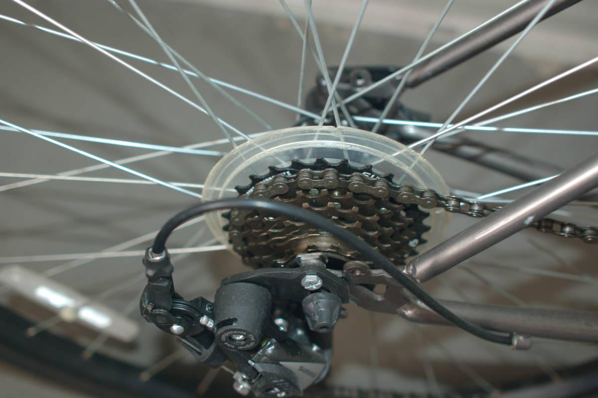 28インチ700 35Cクロスバイク Tour de Shangri-la (部品取り用、引取り限定)_画像7
