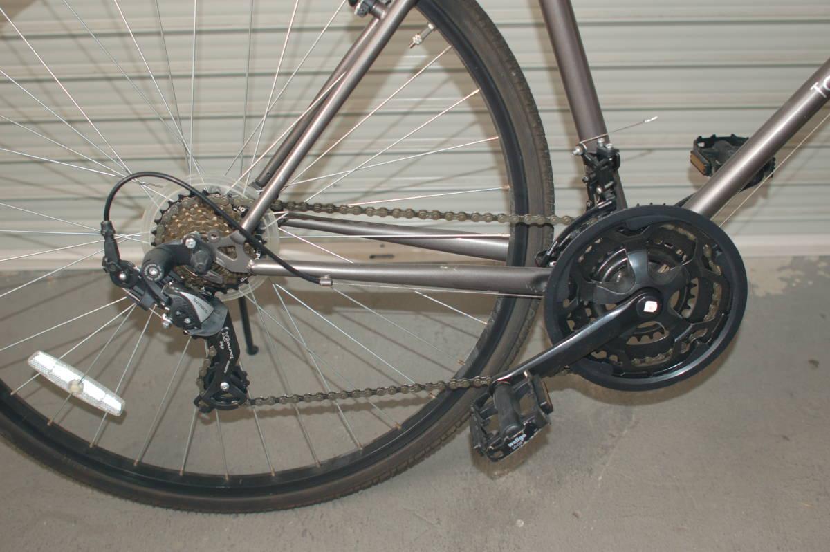 28インチ700 35Cクロスバイク Tour de Shangri-la (部品取り用、引取り限定)_画像9