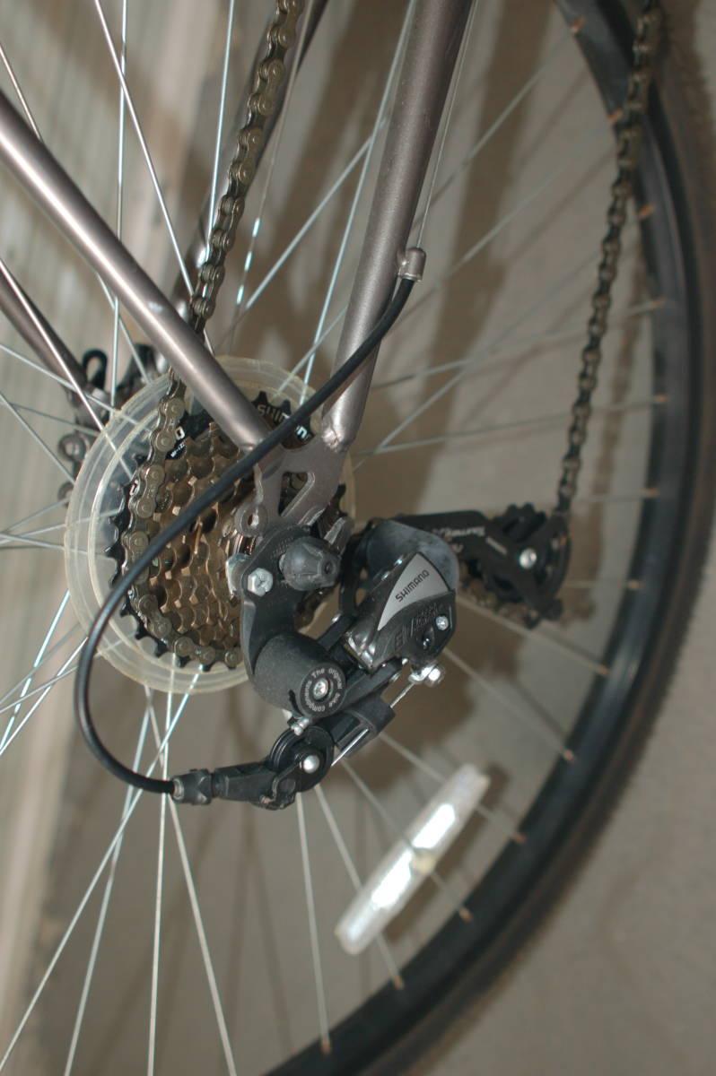 28インチ700 35Cクロスバイク Tour de Shangri-la (部品取り用、引取り限定)_画像4