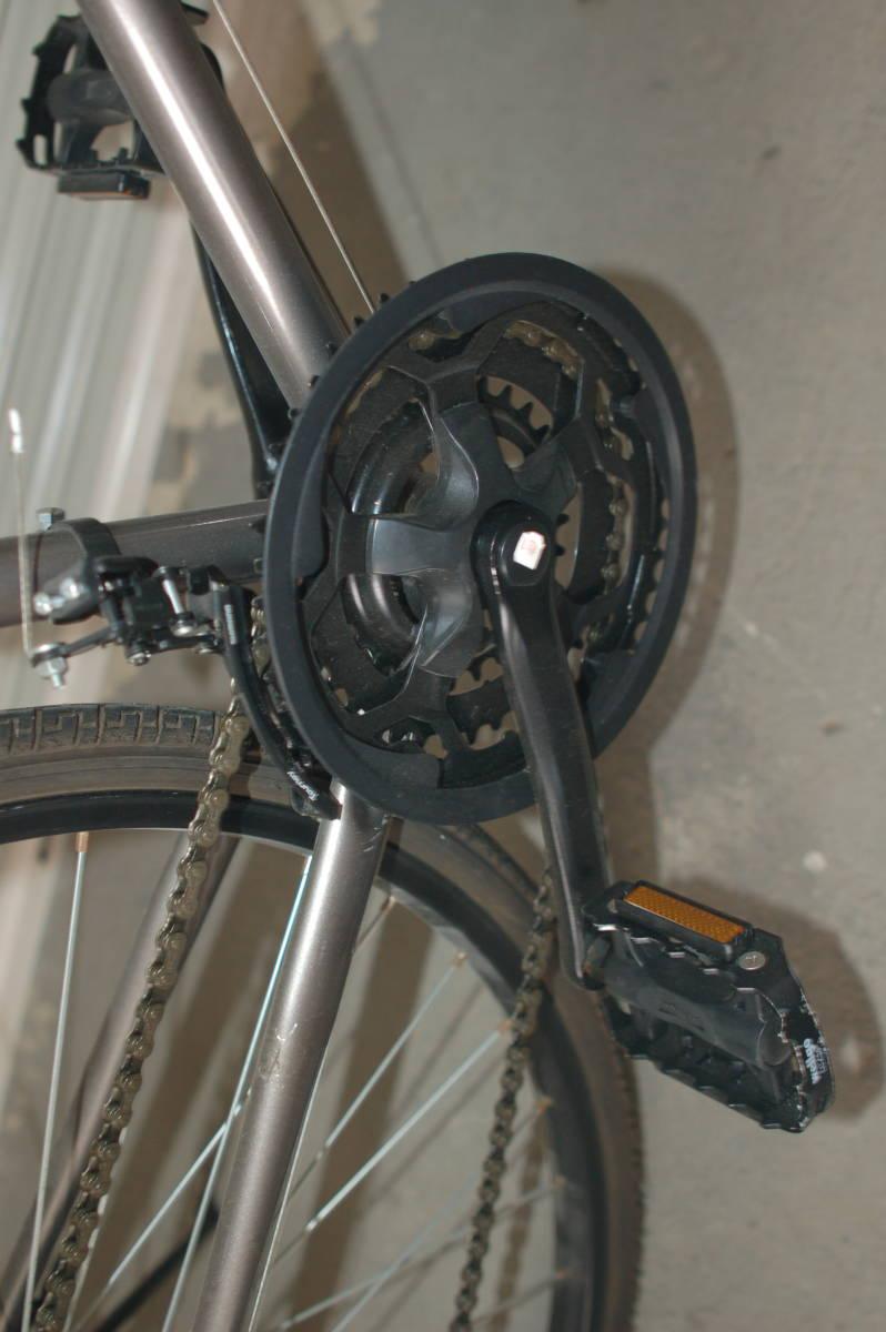 28インチ700 35Cクロスバイク Tour de Shangri-la (部品取り用、引取り限定)_画像5