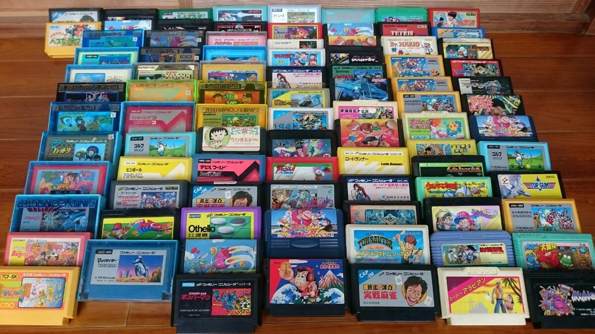 fcソフト レア 希少 ファミコンソフト マリオ ビーバップハイスクール ソフト 本体のみ 箱付き まとめて 大量 _画像7