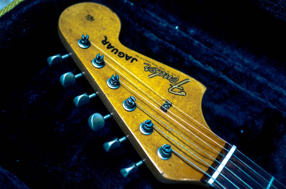 Fender Pre CBS 1965年製 ビンテージ Jaguar vintage FENDER USA custom shop 再出品_画像4