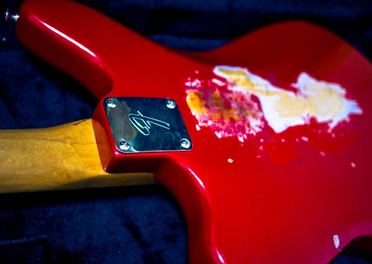 Fender Pre CBS 1965年製 ビンテージ Jaguar vintage FENDER USA custom shop 再出品_画像10