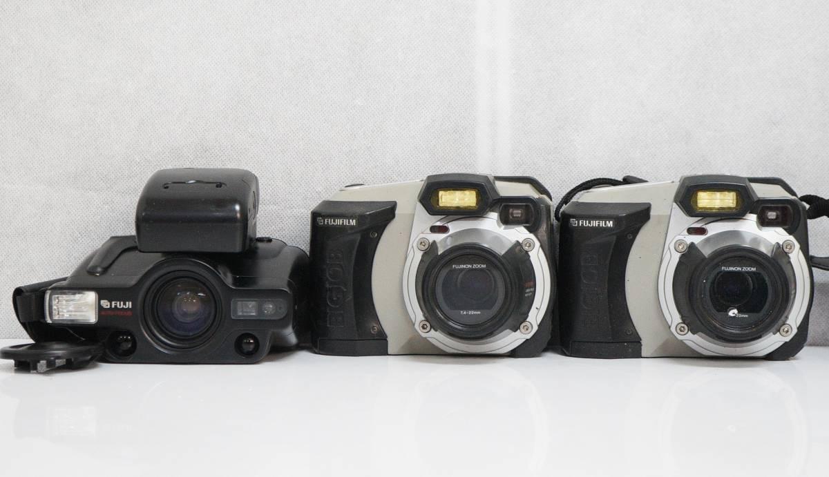 □ 種類色々 カメラ20台まとめて 一眼レフ/フィルム/コンパクト/蛇腹 Canon/PETRI/KONICA/FUJI/Nikon/RICOH等 動作未確認 中古 現状品 ③_画像4