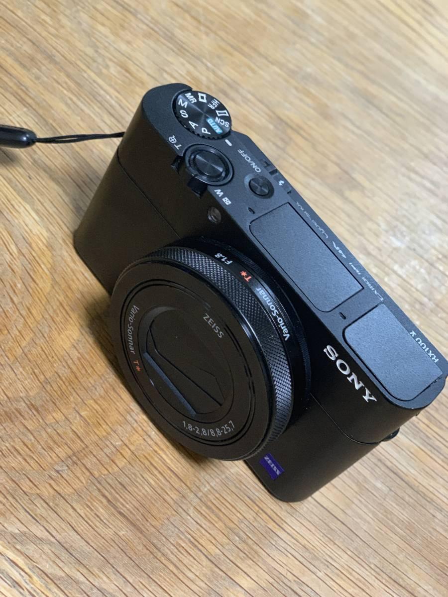 1円~ / 【美品】 SONY Cyber-shot DSC-RX100M5A デジタルカメラ ソニー ケース, SDcard付_画像3