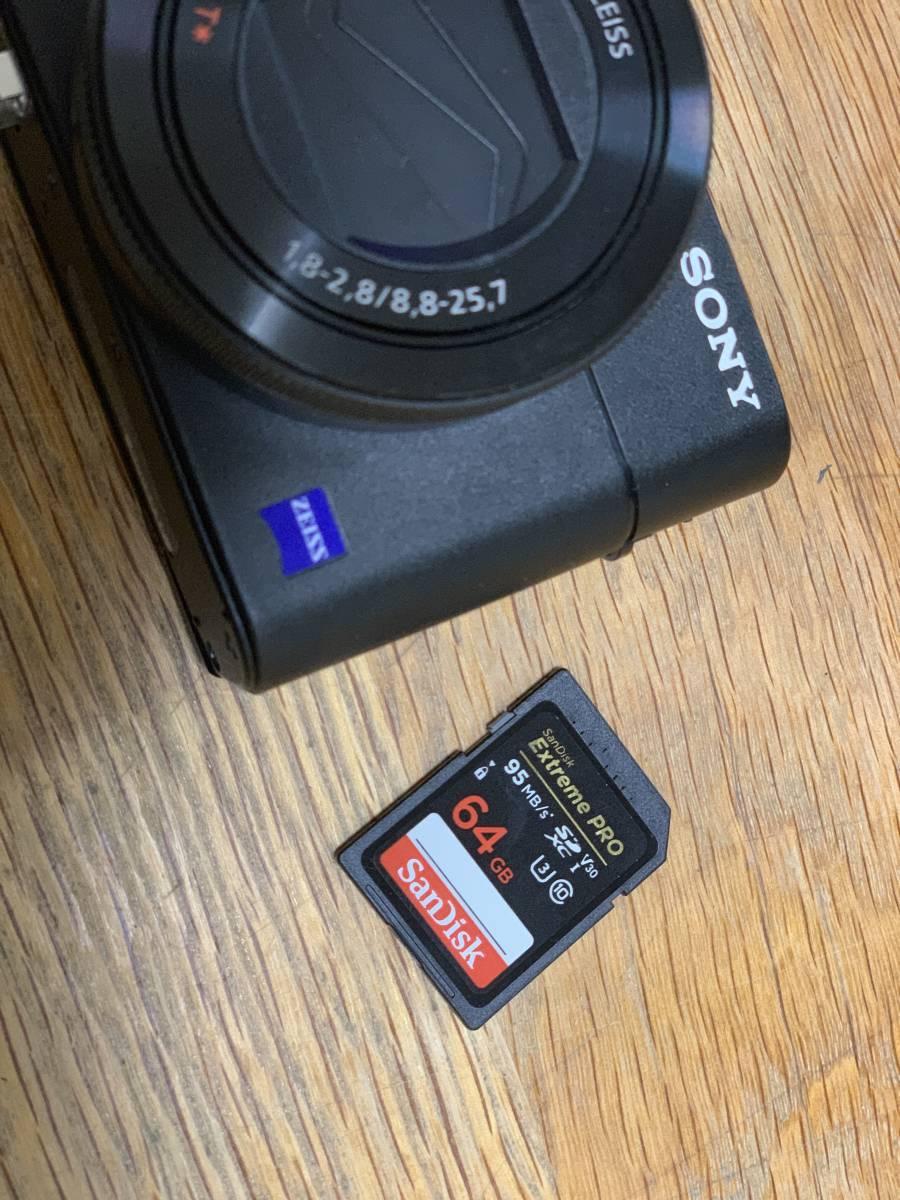 1円~ / 【美品】 SONY Cyber-shot DSC-RX100M5A デジタルカメラ ソニー ケース, SDcard付_画像2