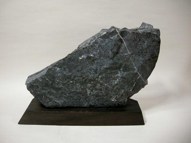門司梅花石  幅約61.0cm 重さ約35kg 台座付 蕾花無数  福岡県天然記念物 本物保障 _画像6