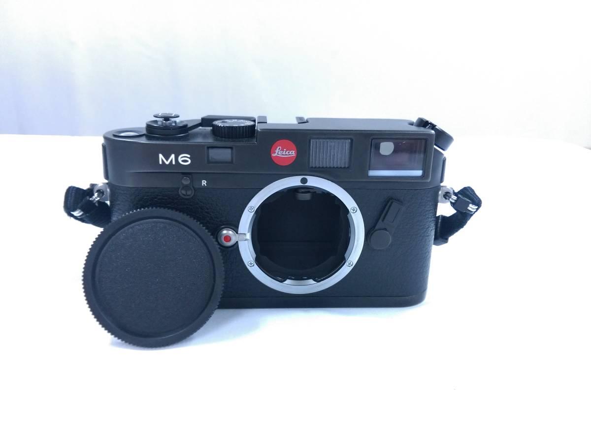 ライカ LEICA M6 ブラック レンジファインダーカメラ GMBH ドイツ製