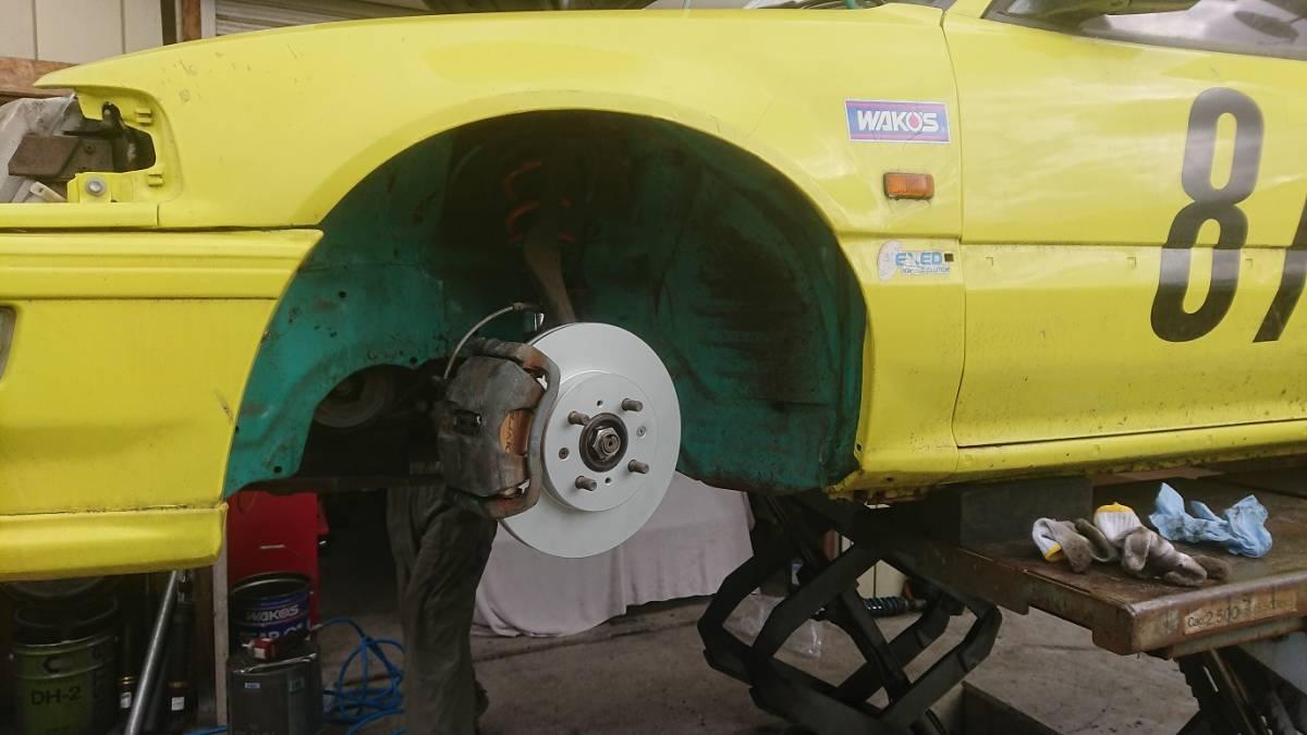 SHORINオリジナル車高調(スペリオリティーダンパー) ホンダ シビック(EF8/EF9)用 F:14k R:12kg ID:Φ65_画像3