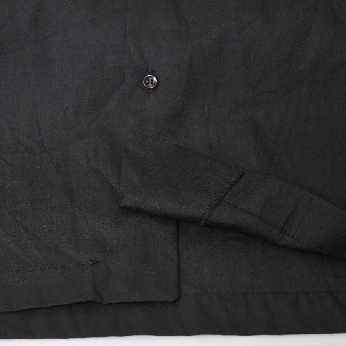 古着●キングルイ ボウリングシャツ ブラック コンビ M ビンテージタグ付き xwp_画像7