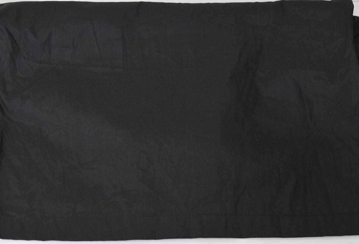 古着●キングルイ ボウリングシャツ ブラック コンビ M ビンテージタグ付き xwp_画像9
