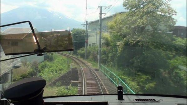 8000系フジサン特急 大月駅~河口湖走行展望 鉄道日和 富士急行線 _画像4
