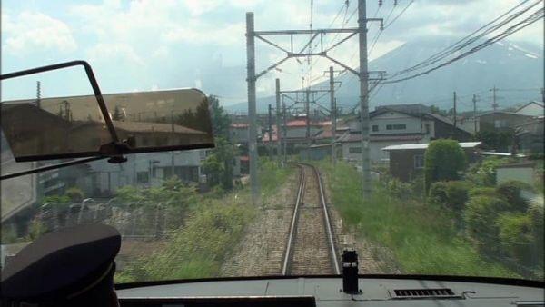 8000系フジサン特急 大月駅~河口湖走行展望 鉄道日和 富士急行線 _画像5