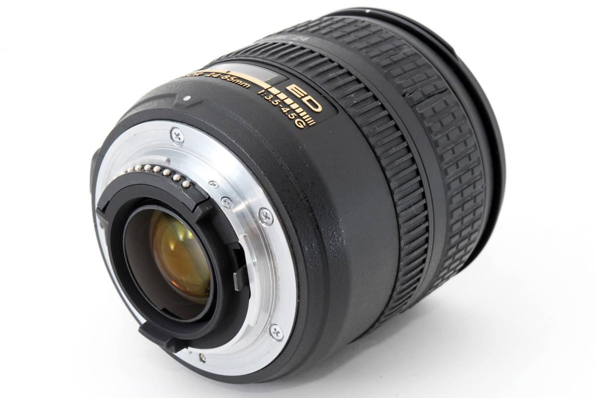 Nikon AF-S Nikkor 24-85mm F3.5-4.5 G ED 広角ズームレンズ ソフトケース付 #YE_画像5