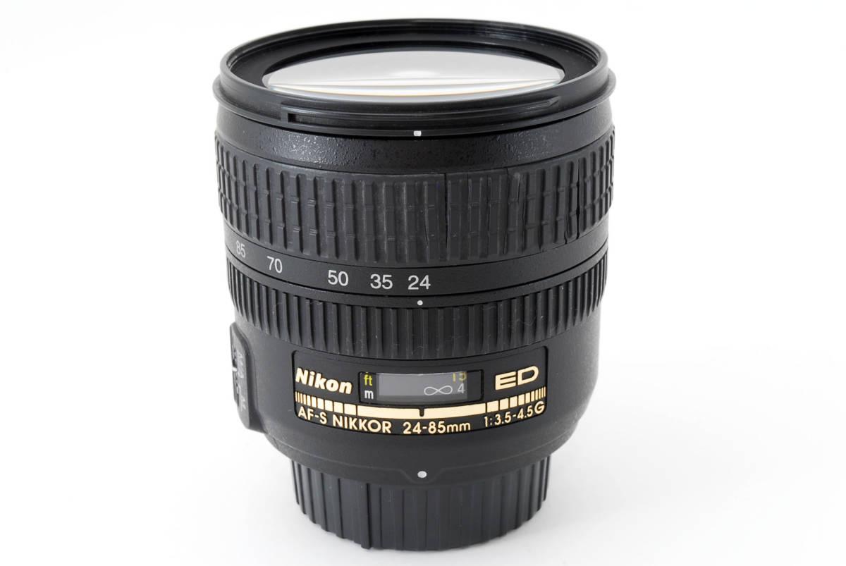Nikon AF-S Nikkor 24-85mm F3.5-4.5 G ED 広角ズームレンズ ソフトケース付 #YE_画像10