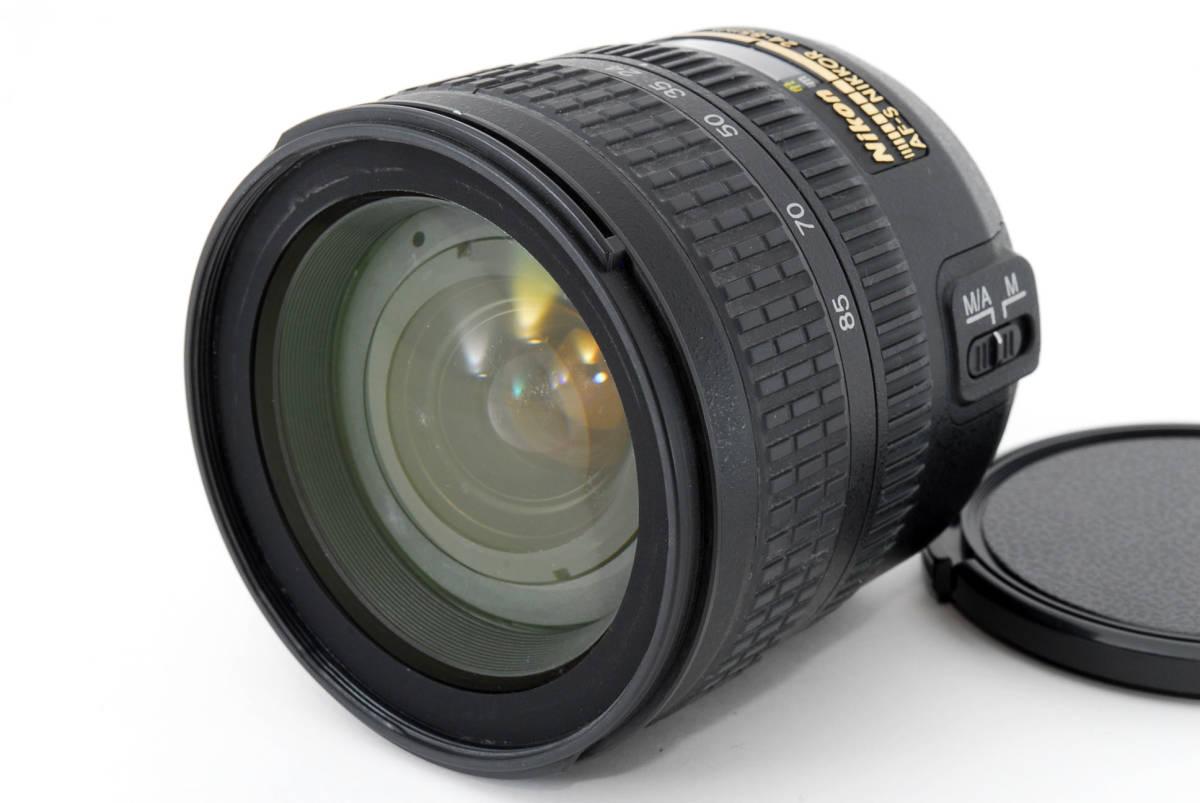 Nikon AF-S Nikkor 24-85mm F3.5-4.5 G ED 広角ズームレンズ ソフトケース付 #YE_画像2