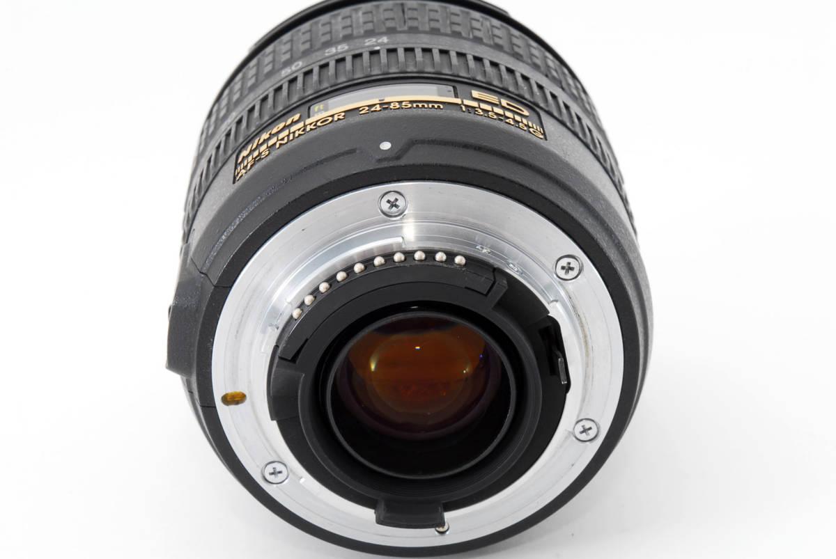 Nikon AF-S Nikkor 24-85mm F3.5-4.5 G ED 広角ズームレンズ ソフトケース付 #YE_画像6